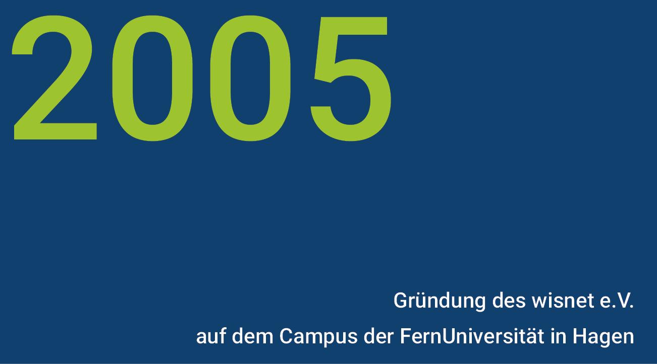 Meilensteine - wisnet 2005