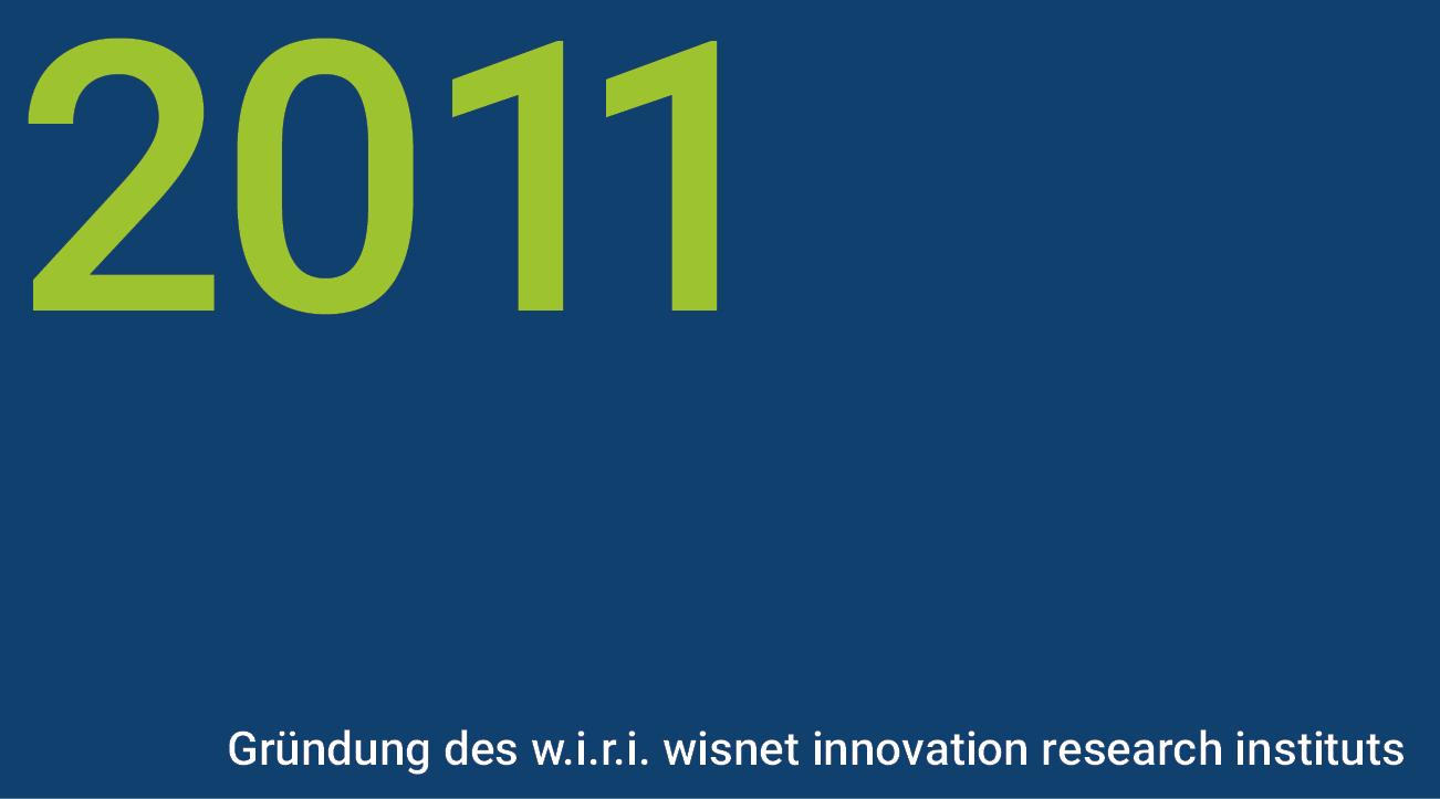 Meilensteine - wisnet 2011