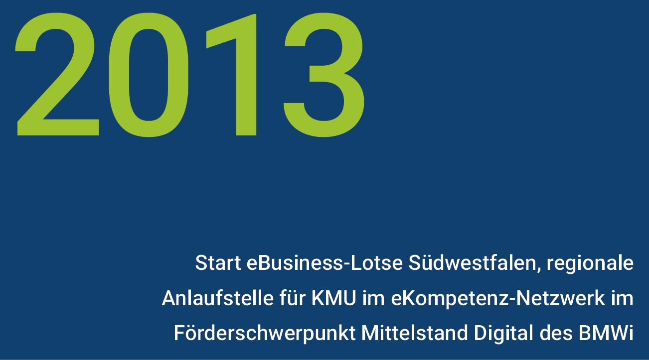 Meilensteine - wisnet 2013
