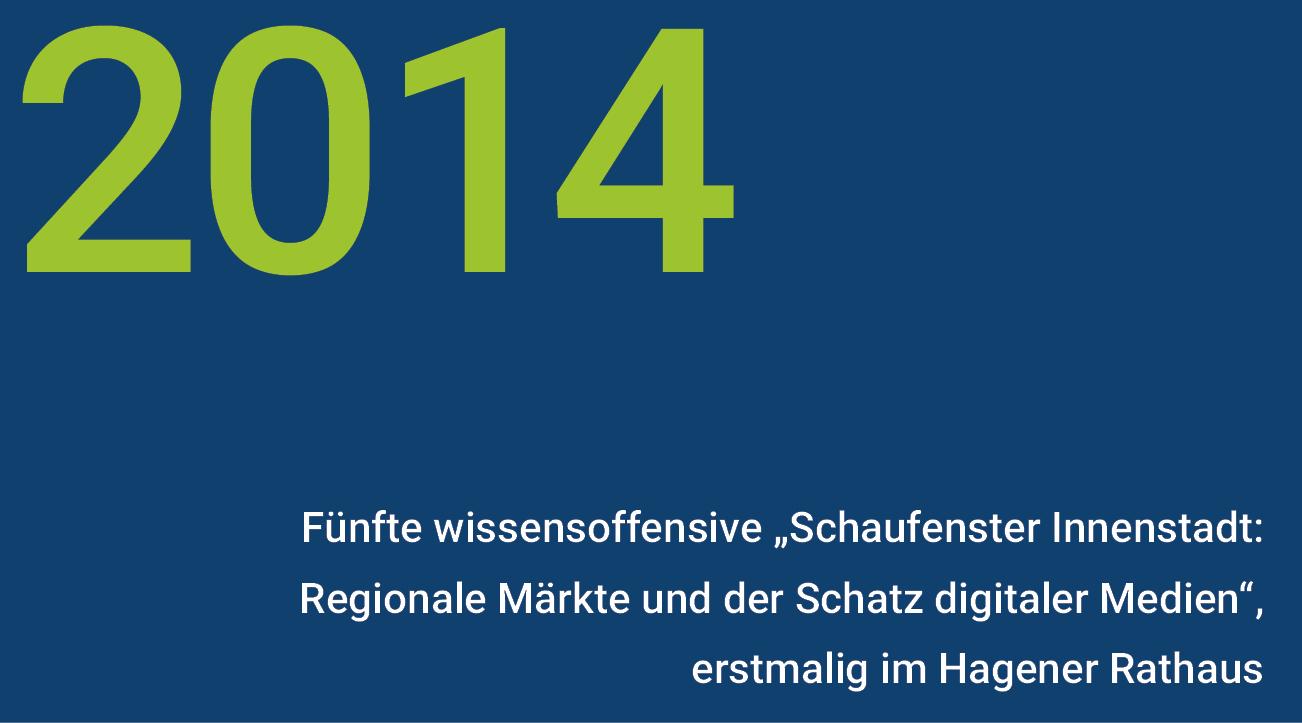 Meilensteine - wisnet 2014