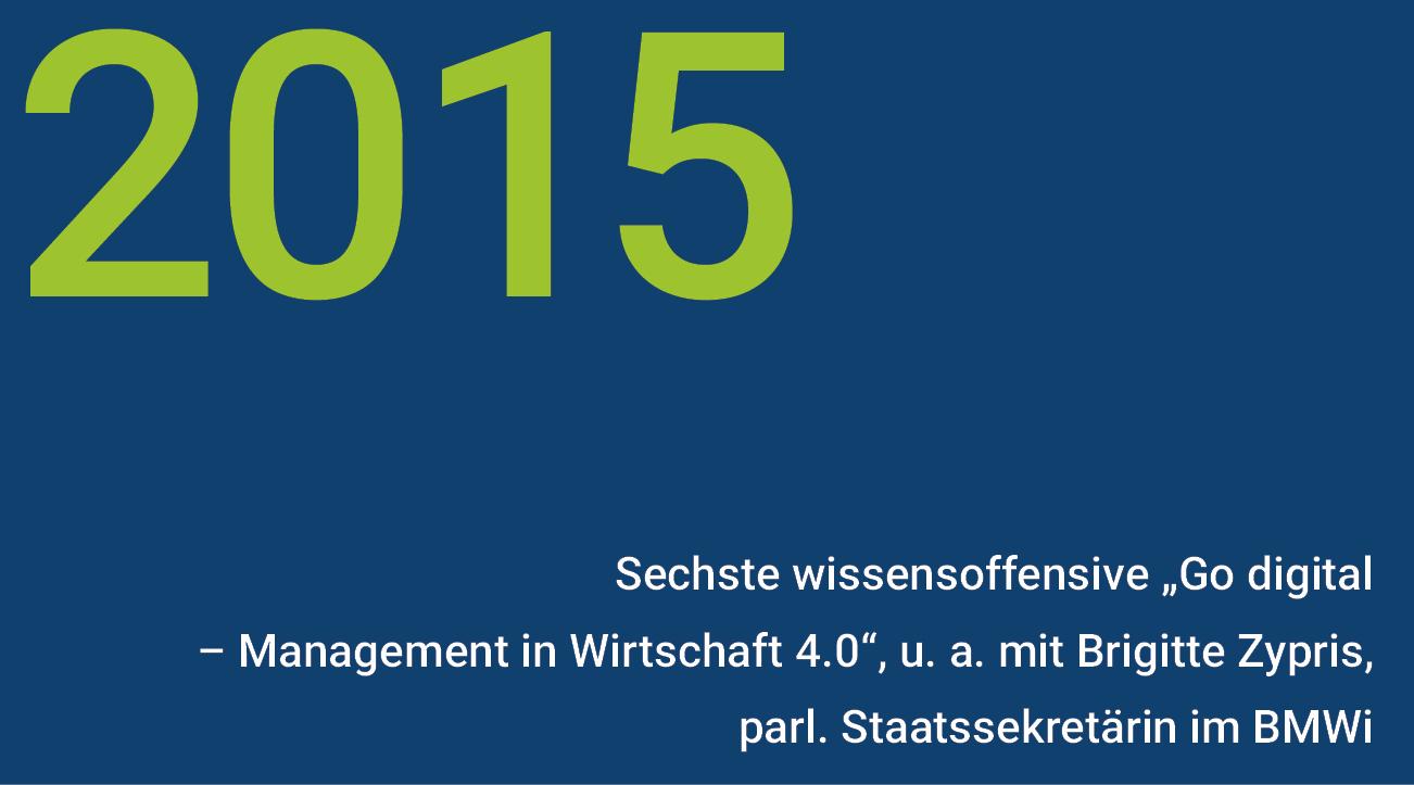 Meilensteine - wisnet 2015
