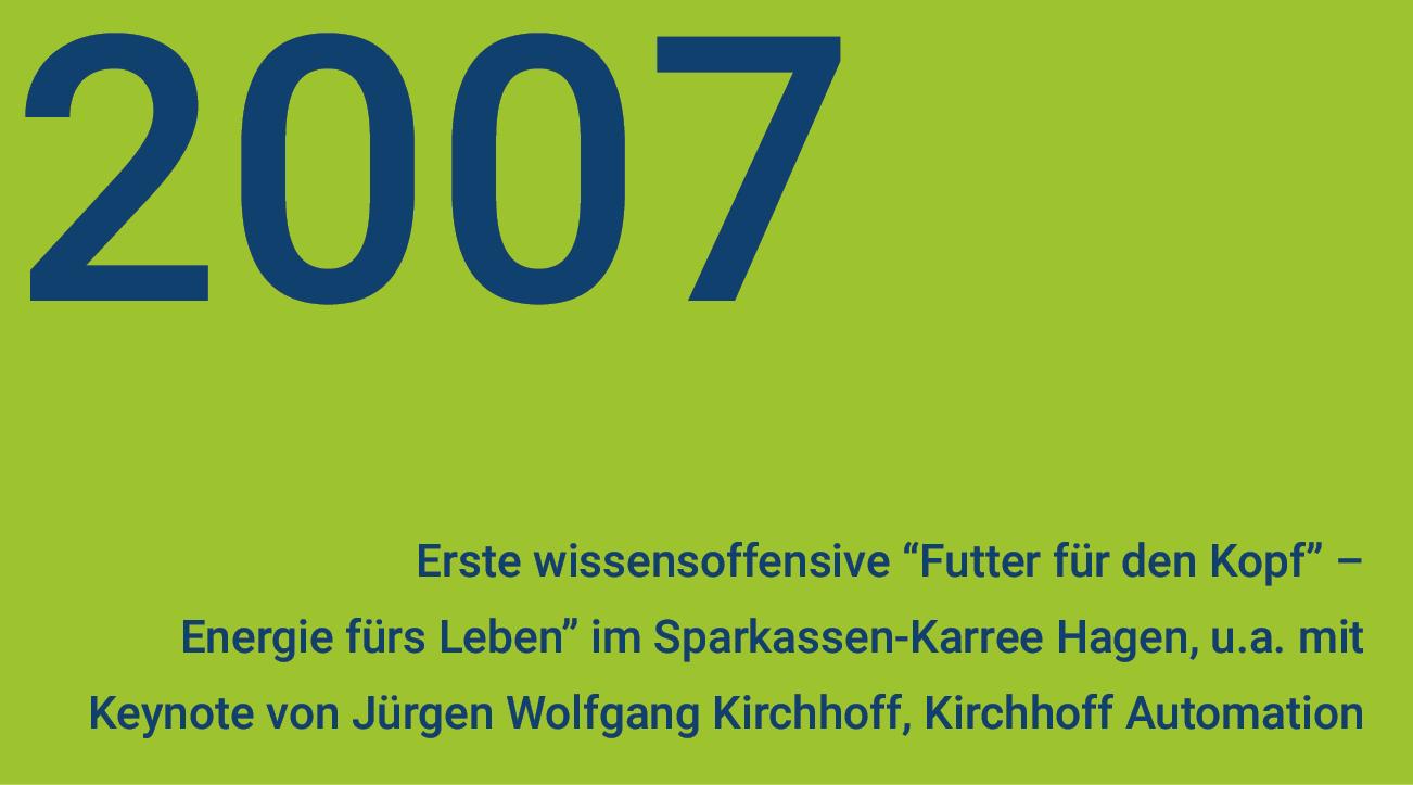 wissensoffensive 2007