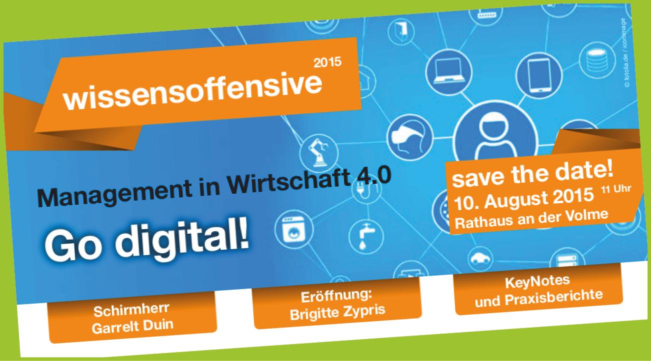 wissensoffensive 2015 - Go digital!